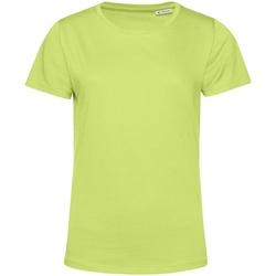 Kleidung Damen T-Shirts B&c TW02B Limettengrün