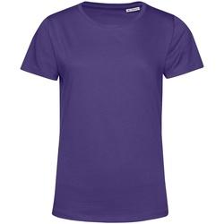 Kleidung Damen T-Shirts B&c TW02B Violett
