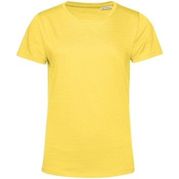 Kleidung Damen T-Shirts B&c TW02B Gelb