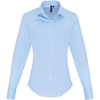 Kleidung Damen Hemden Premier PR344 Hellblau