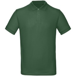 Kleidung Herren Polohemden B And C PM430 Flaschengrün