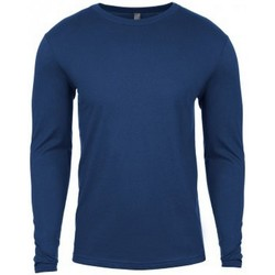 Kleidung Herren Langarmshirts Next Level NX3601 Kühles Blau