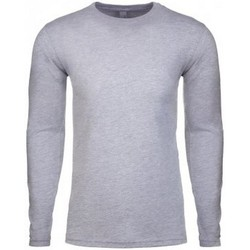 Kleidung Herren Langarmshirts Next Level NX3601 Grau meliert