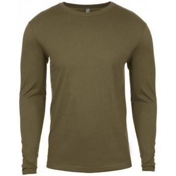 Kleidung Herren Langarmshirts Next Level NX3601 Militärsgrün