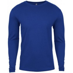 Kleidung Herren Langarmshirts Next Level NX3601 Königsblau