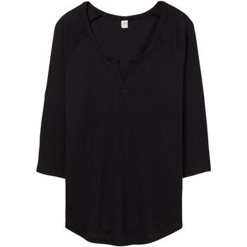 Kleidung Damen T-Shirts & Poloshirts Alternative Apparel AT008 Schwarz