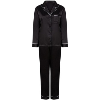 Kleidung Damen Pyjamas/ Nachthemden Towel City TC55 Schwarz