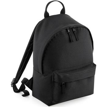 Taschen Rucksäcke Bagbase BG125S Schwarz/Schwarz
