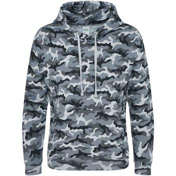 Kleidung Herren Sweatshirts Awdis JH014 Graues Tarnmuster