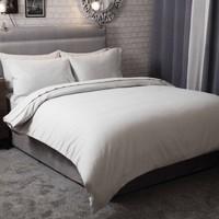 Home Bettbezug Belledorm Single BM305 Grau
