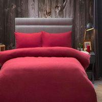 Home Bettbezug Belledorm Single Rot
