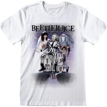 Kleidung T-Shirts Beetlejuice  Weiß