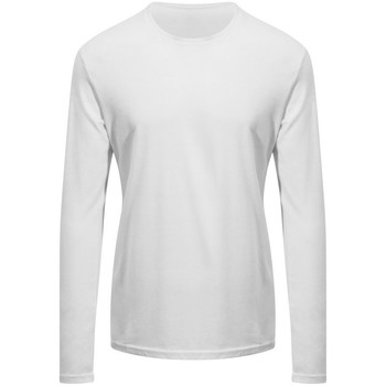 Kleidung Langarmshirts Awdis EA021 Schneeweiß