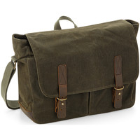 Taschen Jungen Schultasche Quadra QD653 Grün