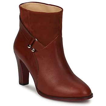 Schuhe Damen Low Boots MySuelly CLAUDE Braun