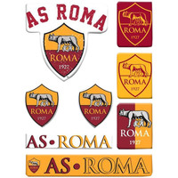 Home Stickers As Roma Taille unique Gelb/Rot