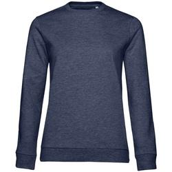 Kleidung Damen Sweatshirts B&c WW02W Marineblau meliert