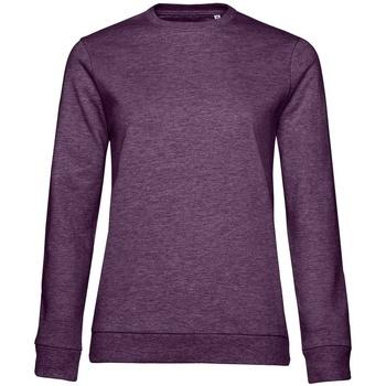 Kleidung Damen Sweatshirts B&c WW02W Violett meliert