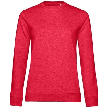 Kleidung Damen Sweatshirts B&c WW02W Rot meliert