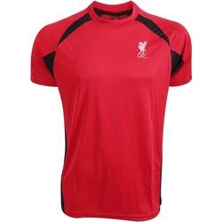 Kleidung T-Shirts Liverpool Fc  Rot/Schwarz