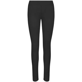Kleidung Damen Leggings Awdis JC070 Schwarz