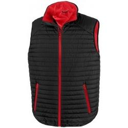 Kleidung Jacken Result R239X Schwarz/Rot