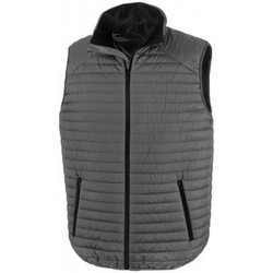 Kleidung Jacken Result R239X Grau/Schwarz