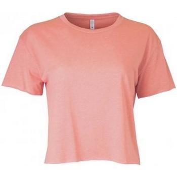 Kleidung Damen T-Shirts Next Level NX5080 Beige-Rosa