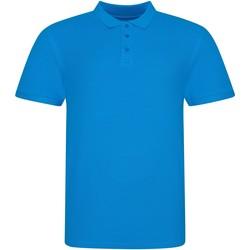 Kleidung Polohemden Awdis JP100 Azurblau
