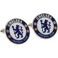 Uhren & Schmuck Herren Manschettenknöpfe Chelsea Fc  Blau