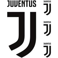 Home Plakate, Posters Juventus TA584 Schwarz/Weiß