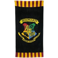 Home Strandtuch Harry Potter TA5996 Schwarz