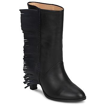 Schuhe Damen Klassische Stiefel MySuelly GAD Schwarz