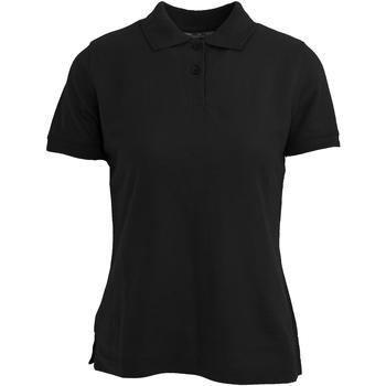 Kleidung Damen Polohemden Absolute Apparel  Schwarz