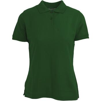Kleidung Damen Polohemden Absolute Apparel  Flaschengrün