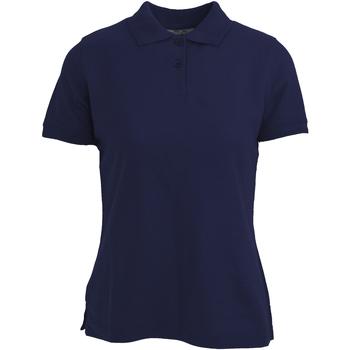 Kleidung Damen Polohemden Absolute Apparel  Marineblau