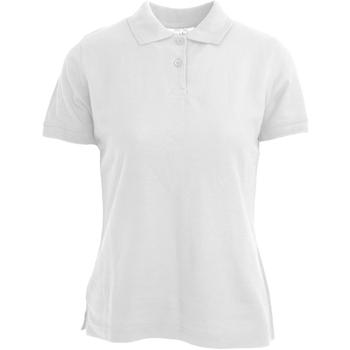 Kleidung Damen Polohemden Absolute Apparel  Weiß