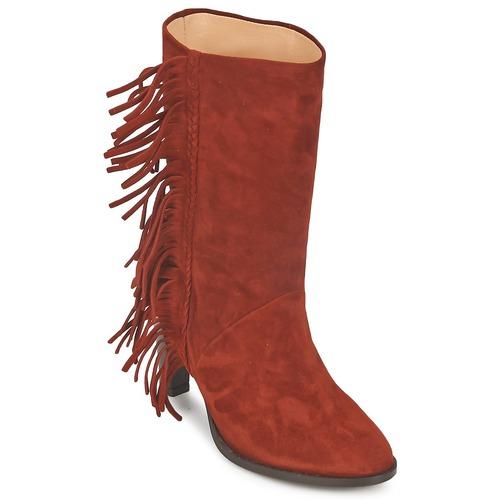 Schuhe Damen Klassische Stiefel MySuelly GAD rot