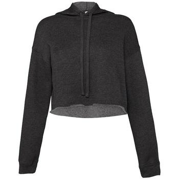 Kleidung Damen Sweatshirts Bella + Canvas BL7502 Dunkelgrau meliert