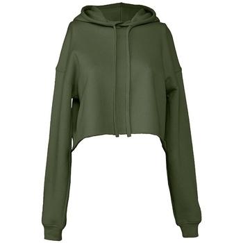 Kleidung Damen Sweatshirts Bella + Canvas BL7502 Khakigrün