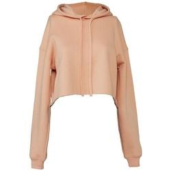 Kleidung Damen Sweatshirts Bella + Canvas BL7502 Pfirsich