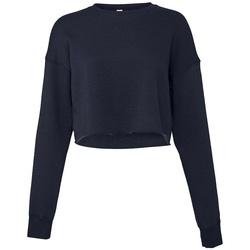 Kleidung Damen Sweatshirts Bella + Canvas BL7503 Marineblau