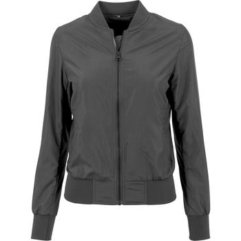 Kleidung Damen Jacken Build Your Brand BY044 Schwarz