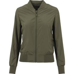 Kleidung Damen Jacken Build Your Brand BY044 Olive