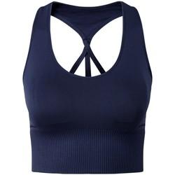 Kleidung Damen Sport BHs Tridri TR208 Marineblau