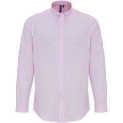 Kleidung Herren Langärmelige Hemden Premier PR238 Rot