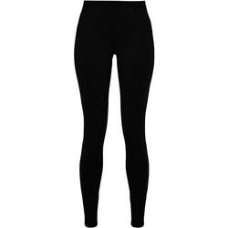 Kleidung Damen Leggings Build Your Brand BY099 Schwarz