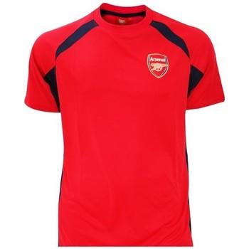 Kleidung Jungen T-Shirts Arsenal Fc  Rot/Schwarz