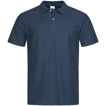 Kleidung Herren Polohemden Stedman  Marineblau
