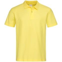 Kleidung Herren Polohemden Stedman  Gelb